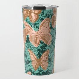 Butterflies Fluttering Travel Mug