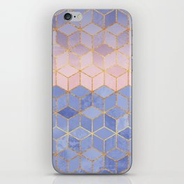Rose Quartz & Serenity Cubes iPhone Skin