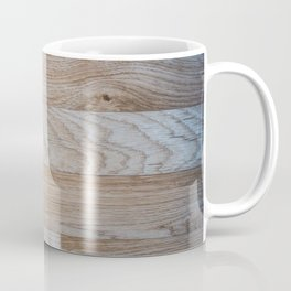 Light Wood Texture Coffee Mug