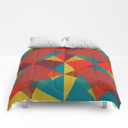 Triangular Pattern #4 Comforters