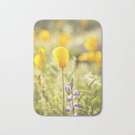 Arizona Desert Poppy Bath Mat