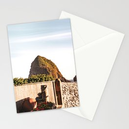 Haystack Rock at Cannon Beach | Oregon Coast Photography Stationery Cards
