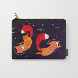 Space Foxes Carry-All Pouch