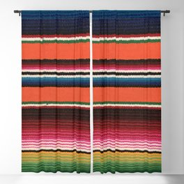 BEAUTIFUL MEXICAN SERAPE Blackout Curtain