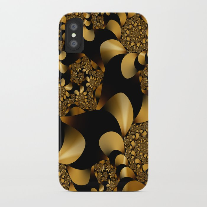 The Golden Snake iPhone Case