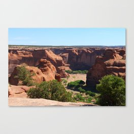 The Beauty of Canyon de Chelly Canvas Print
