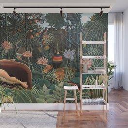 Henri Rousseau - The Dream Wall Mural