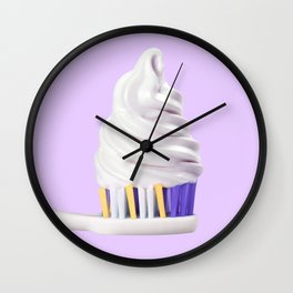 TOOTH CREAM Wall Clock