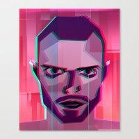 jesse pinkman Canvas Prints featuring Jesse Pinkman by George Wylesol