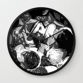 David Bowie Wall Clock