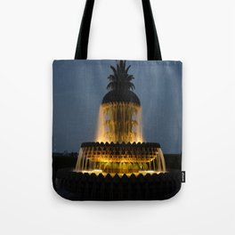 fountain lights Tote Bag