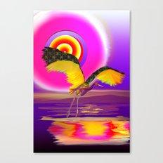sandhill crane Canvas Print
