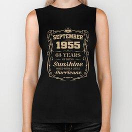 September 1955 Sunshine mixed Hurricane Biker Tank