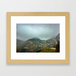 Peaks of Europe Framed Art Print
