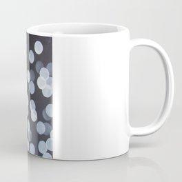 No. 44 - Print of Bokeh Inspired Black and White Modern Abstract Painting Coffee Mug