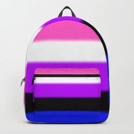 Genderfluid Pride Flag Backpack