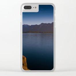 Chillon Castle Clear iPhone Case