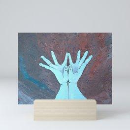 Lotus Mudra Mini Art Print