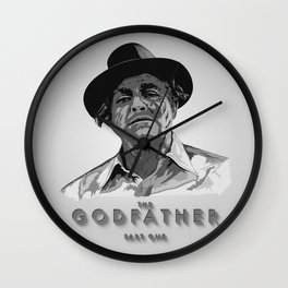 The Godfather - Part One Wall Clock