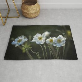 Graceful Anemones, No. 2 Rug