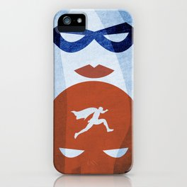 Nightly patrol Superheroes SF iPhone Case