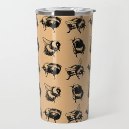 Bumblebees Travel Mug