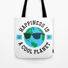 Happiness Is A Cool Planet Tote Bag