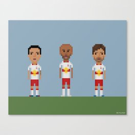 New Your Red Bulls trio Canvas Print