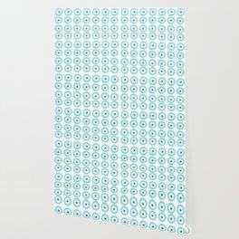 Baby Blue Evil Eye Wallpaper