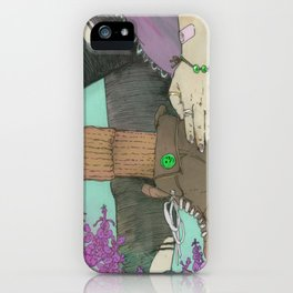Premium Natural (2)  iPhone Case