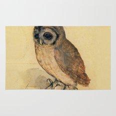 Albrecht Durer The Little Owl Rug