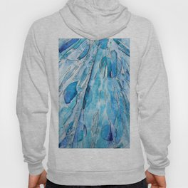 Falling Abstraction Hoody