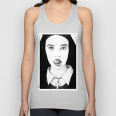asc 228 - La Pureté (Purity is for madmen to make fools of us all) Unisex Tank Top