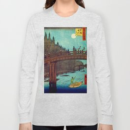 Beautiful Evening Across The Bridge Long Sleeve T-shirt
