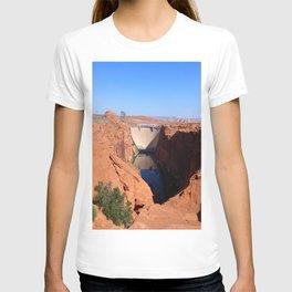 Glen Canyon Dam And Colorado River T-shirt