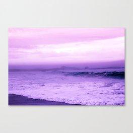Beautiful Purple Oceanside Canvas Print