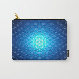 Abstract background pattern Carry-All Pouch