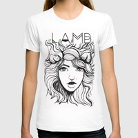 lamb T-shirts featuring LAMB by hearttylee