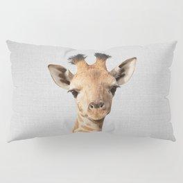 Baby Giraffe - Colorful Pillow Sham