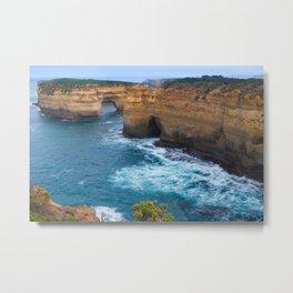 Australian Coastline 3 Metal Print