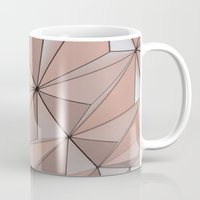 globe Mugs featuring Globe by Alexis Bishop