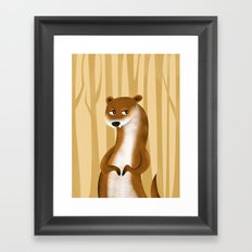 Otter Framed Art Print