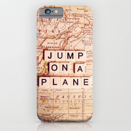 jump on a plane iPhone & iPod Case