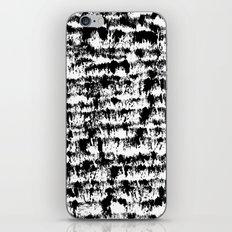 Black Pattern#2 iPhone & iPod Skin