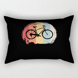 Bicycle Retro Rectangular Pillow