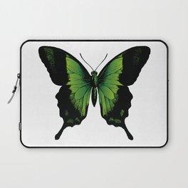Green Butterfly Laptop Sleeve