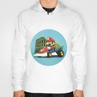 mario kart Hoodies featuring Super Mario: the homecoming by josemanuelerre