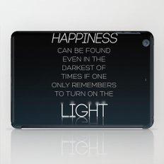 Harry Potter Albus Dumbledore Quote iPad Case