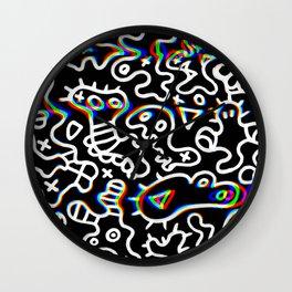 Hypnos microbes Wall Clock