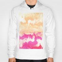 gradient Hoodies featuring Pastel Gradient by Jenna Davis Designs